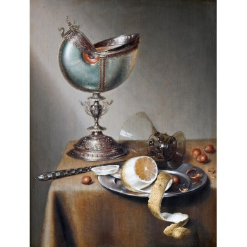 Still Life with Chinese Bowl and Nautilus